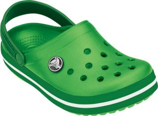 Childrens Crocs Crocband   Lime/Kelly Green Casual Shoes