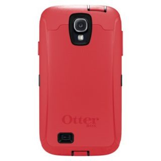 Otterbox Defender Cell Phone Case for Samsung Galaxy S4   Raspberry (OB SGS4DEF)