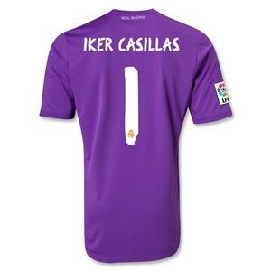 adidas Real Madrid 13/14 IKER CASILLAS Home Goalkeeper Jersey