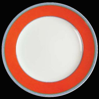 Villeroy & Boch Tipo Viva Red Dinner Plate, Fine China Dinnerware   Fine China,