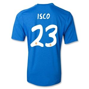 adidas Real Madrid 13/14 ISCO Away Soccer Jersey