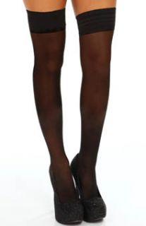 DKNY Hosiery 0B730 Sheer Tights Thigh High