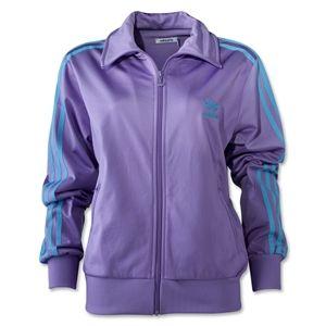 adidas Originals Womens Firebird Track Top (Purple)
