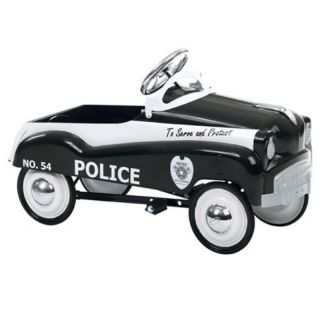 InSTEP Police Pedal Car Multicolor   14 PC200
