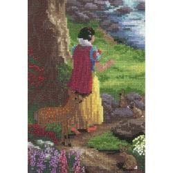 Disney Dreams Collection By Thomas Kinkade Snow White 5x7 18 Count