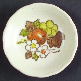 Metlox   Poppytrail   Vernon Fruit Basket Coaster, Fine China Dinnerware   Brown